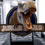 Jurassic World Dinosaur T Rex Trade Show Prop