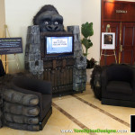 gorilla themed furniture for adults and kids