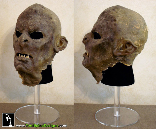 Lord of the Rings Orc Makeup Movie Prop Mask Restoration