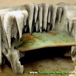 faux rock cave formation furniture