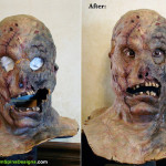 Maniac Cop 3 Movie Prop Mask Restoration