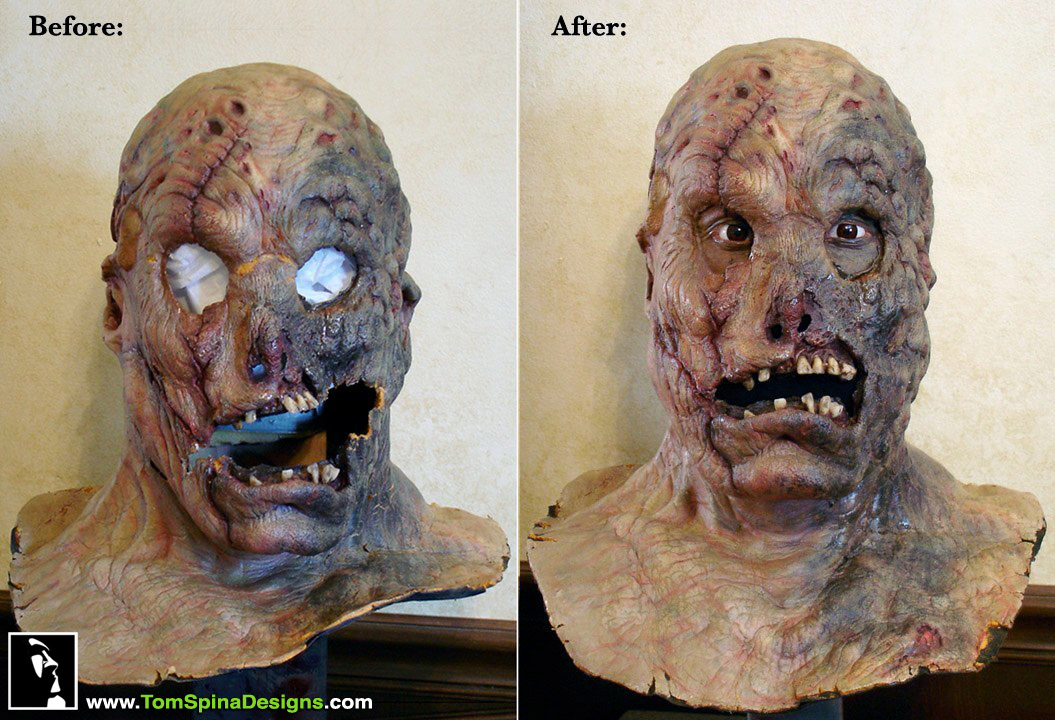 Maniac Cop 3 Foam Latex Movie Prop Mask Restoration