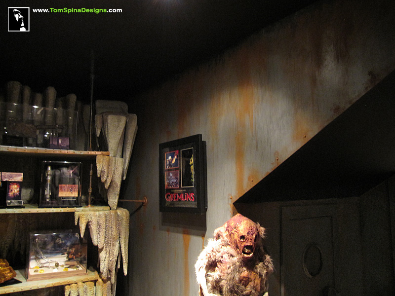 Man Cave Metal : Custom man cave horror themed home theater & movie prop museum