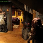Movie Props Themed Home Theater Design Man Cave