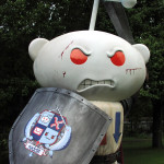 life sized character statue or foam prop