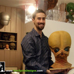 Star Wars Life Size Bust Cantina Band Sculpture Sideshow Collectibles