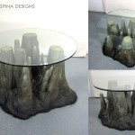 custom furniture with foam cave props