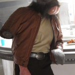 Walrusman behind the scenes Star Wars Bar commercial