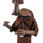 Hammerhead custom sculpted costume from Star Wars Cantina Commercial