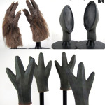 Monster hands props from Star Wars Cantina