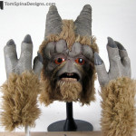 Gotal movie prop Mask from Star Wars Cantina