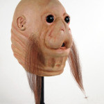 Tawss Khaa movie prop latex mask from Star Wars Cantina
