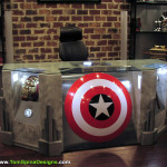 The Avengers Desk Movie Themed Furniture