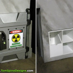 The Avengers desk movie themed office or home theater furniture The Hulk Chamber