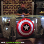 The Avengers desk movie themed office or home theater furniture Mark Hall Casting Crowns
