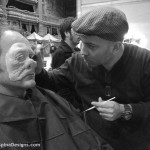Dr. Evezan makeup for movie creature from the star wars bar