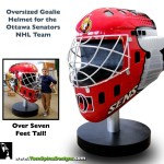 Photo Op Prop Foam Hockey Helmet