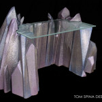 Custom Themed Furniture Crystal Sci Fi Desk