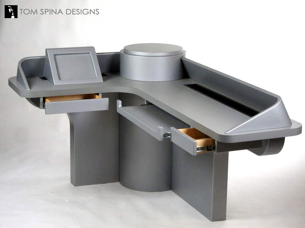 Custom Star Trek Desk Inspired By Movie Amp Tv Sets Tom