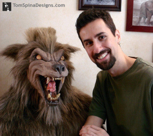 werewolf bust or wolfman realistic bust