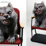 An American Werewolf in London Life Size Werewolf Puppy