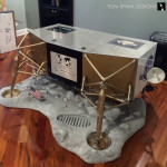Lunar Module Desk Apollo 11 Moon Landing Inspired