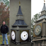 Big Ben Custom Foam Trade Show Model Prop