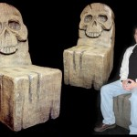 Skull Throne Custom Made Themed Chair