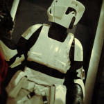 custom star wars mannequin lifesized statue Biker Scout