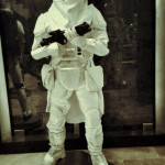 custom star wars mannequin lifesized statue Snowtrooper Hoth
