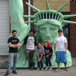 Statue of Liberty photo-op sculptors