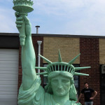 Statue of Liberty photo-op sculptor