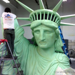 Foam Statue of Liberty Event Prop Sculpture