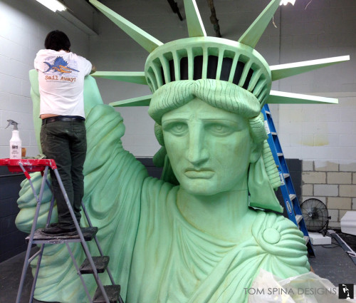 Foam Statue of Liberty Event Prop for New York show