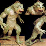 Life size Ymir statue Ray Harryhausen stop motion figure