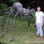 Large Foam Spider Prop for Halloween or Events
