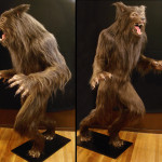 custom life sized werewolf statue mannequin for haunted house