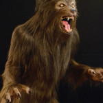 custom lifesized werewolf statue mannequin for haunted house