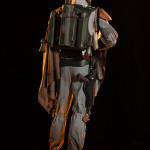custom mannequin for Boba Fett's costume jetpack