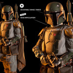 life sized Boba Fett statue for sale at Sideshow Collectibles