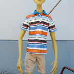 life size alien statue of Brian from Exede Internet