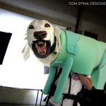 wearable lion costume puppet