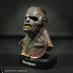 lord of the rings lurtz orc prop mask restoration