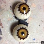 lord of the rings prop mask custom glass eyes