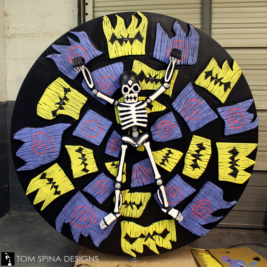 Tim Burton Themed Party Custom Foam Event Props - Tom Spina Designs ...