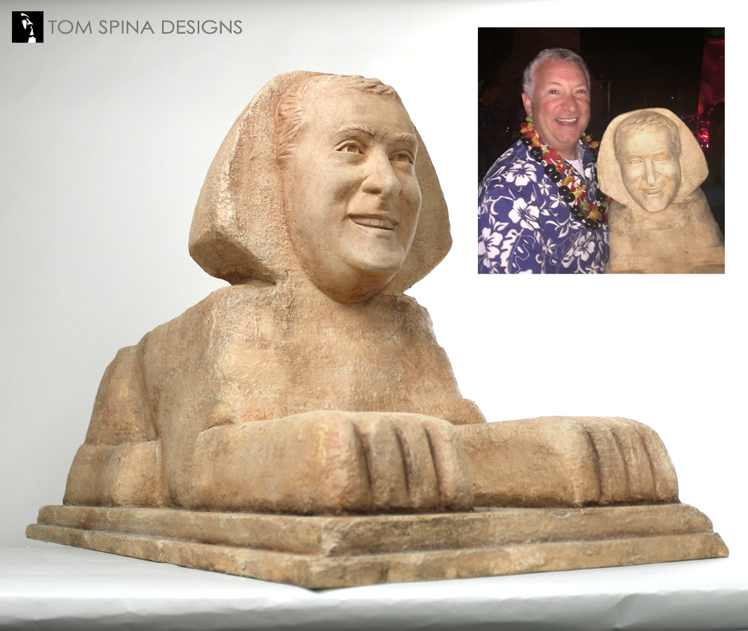 worksheet Sphinx Statue sphinx of egypt gag gift sculpture from photos tom spina designs egyptian statue scaled sculpted photos