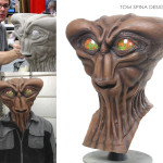 Anvil T-head alien costume cosplay