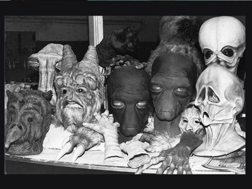 Star Wars Cantina Article pic alien latex masks