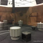 cantina tables and props