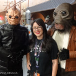 Alien Costumes for Star Wars Celebration Cantina Video